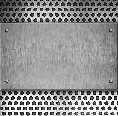 Equalizer Wallpaper Hd Metal Or Steel Grid Plate Background With Rivets Royalty