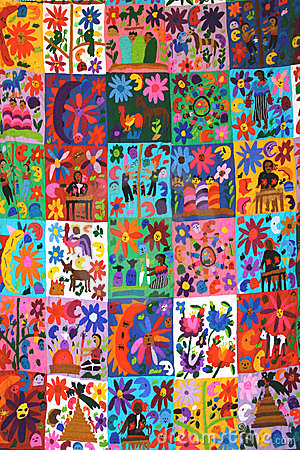 Mexican Quilt Stock Photography Image 6962672