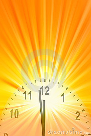 Midday Clock Royalty Free Stock Photo  Image 11430075