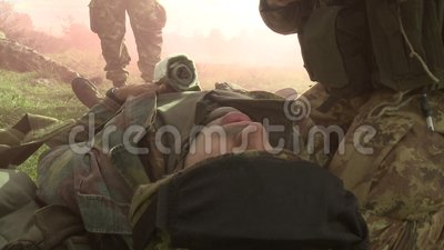 Military Education And Training-severe Chest Wound Stock ...