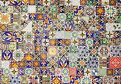 Modelli Delle Piastrelle Di Ceramica Fotografia Stock  Immagine 39610051