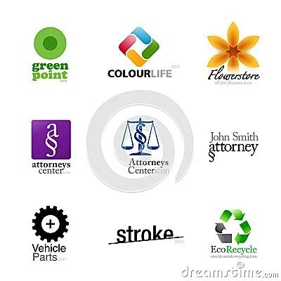 Modern Brand Designs  Set 2 Royalty Free Stock Photos