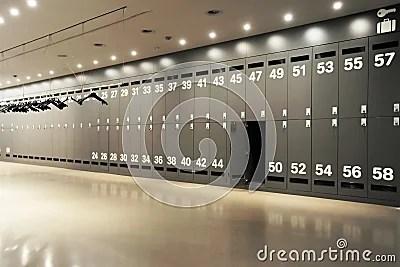 Modern Locker Room Royalty Free Stock Photo  Image 12463615