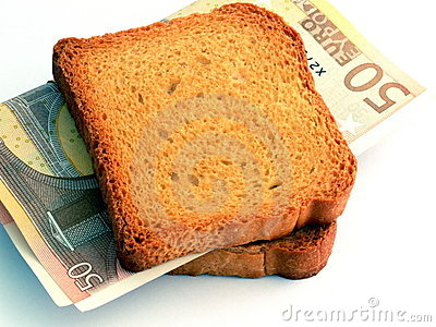 Money Sandwich Royalty Free Stock Photo Image 2025235