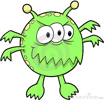 Monster Vector Illustration Royalty Free Stock Photos