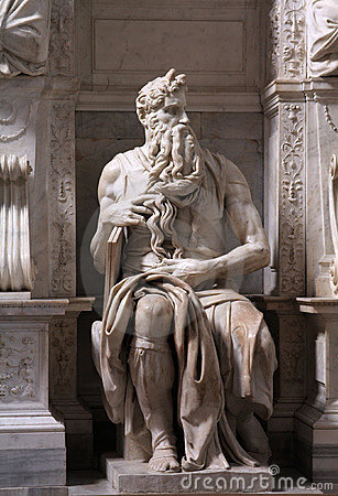 Moses By Michelangelo Royalty Free Stock Photos  Image