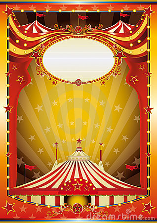 Multicolor Background Circus Stock Images Image 12170294