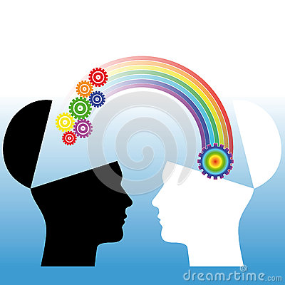Mutual Understanding. Conceptual Illustration Royalty Free Stock Photo - Image: 29836205