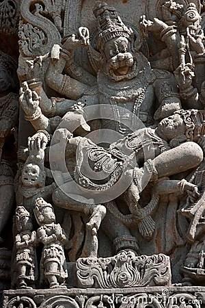 Narasimha Statue.