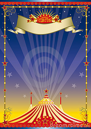 Night Circus Poster Stock Image  Image 10327441