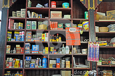 Oldfashioned General Store Editorial Stock Photo  Image 41744998