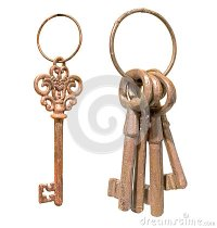 Old Keys On Ring Stock Images - Image: 37509424