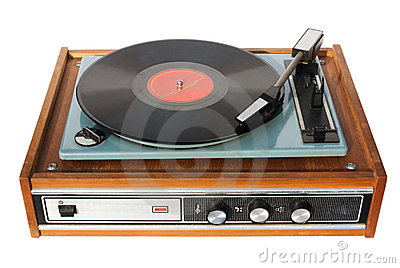 An Old Record-player Stock Photos - Image: 3433023
