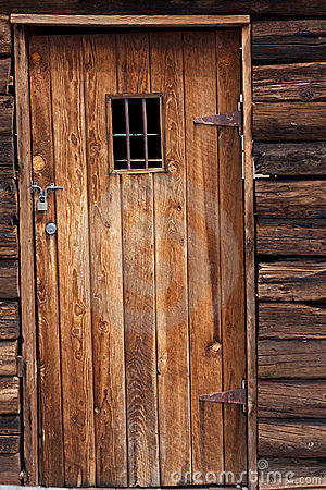 Old Western Jail Door Royalty Free Stock Photo  Image 23847465