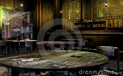 Old Western Saloon Stock Photos  Image 15041863