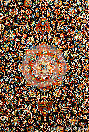 Oriental Persian Carpet Texture Stock Photo  Image 29684750