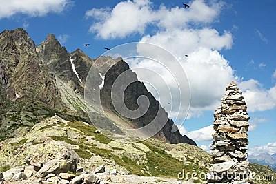 Paesaggio Alpino Fotografie Stock Libere da Diritti  Immagine 15417798