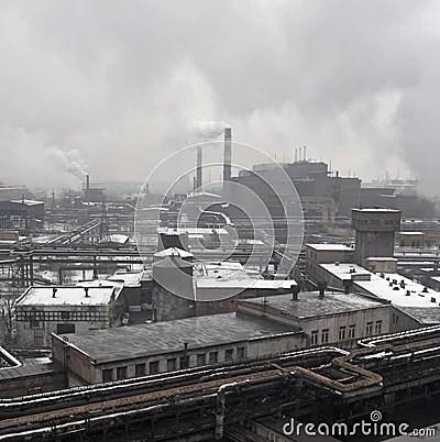 Paesaggio Industriale Immagini Stock  Immagine 12274794