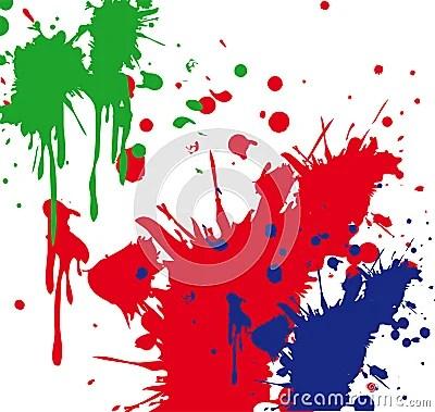 Paint Splatter Stock Photos