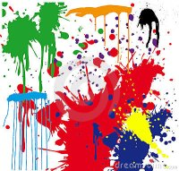 Paint Splatter Stock Photography