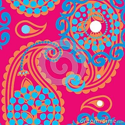 Cute Nail Arts Wallpaper Paisley Pattern Stock Images Image 21692404