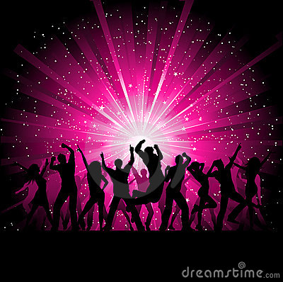 Party People Background Stock Image Image 16403921