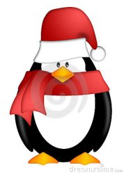 penguin hat santa clipart scarf clip cartoon candy cane background cute clipartpanda royalty illustration winter dreamstime presentations websites reports powerpoint