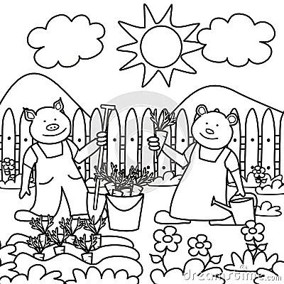 Garden Of Praise Mahatma Gandhi Biography Sketch Coloring Page