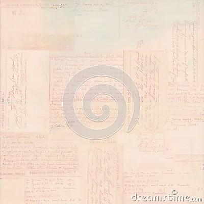 Pink Vintage Postcard Text Ephemera Background Royalty