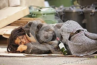 Poor Girl Tramp Royalty Free Stock Photos  Image 21303798