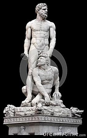 Poseidon Statue Florence Italy Royalty Free Stock Photos