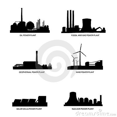 Natural Gas Powerplant, Natural, Free Engine Image For