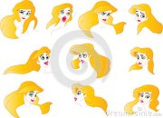 pretty lady expression chart stock