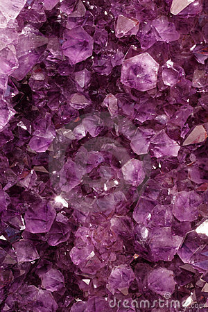 Purple Gems Stock Image  Image 18793091