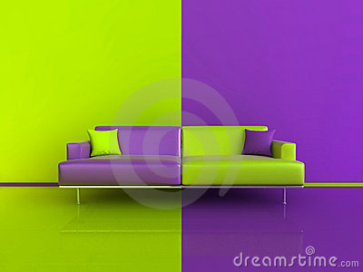 lime green chairs peg perego prima pappa diner high chair purple/green contrast interior royalty free stock photo - image: 17214185