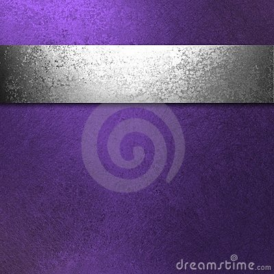 Purple And Silver Background Stock Photo Image 24190750
