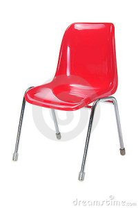 Red Chair Stock Image | CartoonDealer.com #20520997