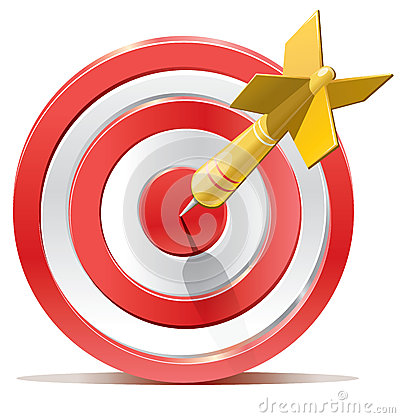 Red Darts Target Aim Royalty Free Stock Images  Image 33705309