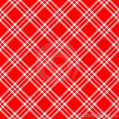Red White Plaid Diagonal Royalty Free Stock Images  Image