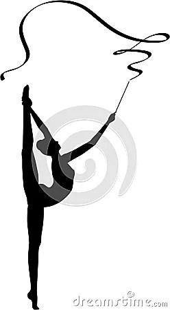 Rhythmic Gymnastics Ribbon Stock Photos  Image 17743073