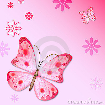 Cute Rose Wallpaper Free Download Romantic Butterfly Background Stock Images Image 23164474