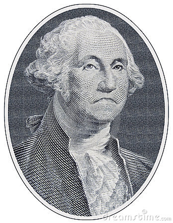 Sad George Washington
