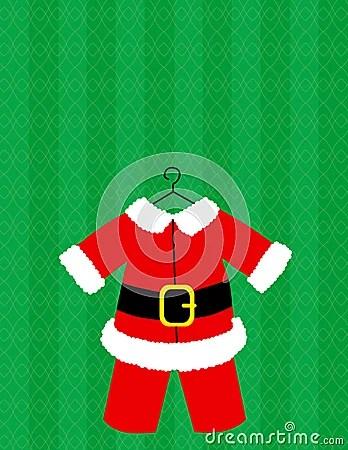 Santa Suit Vector Royalty Free Stock Photos Image 5655398