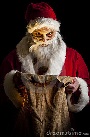 Scary Santa Stock Photos Image 17308903