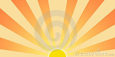 Setting Sun Graphic Clip Art Stock Images  Image 4900914