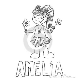 drawing meaning outline simple coloring children characteristics way