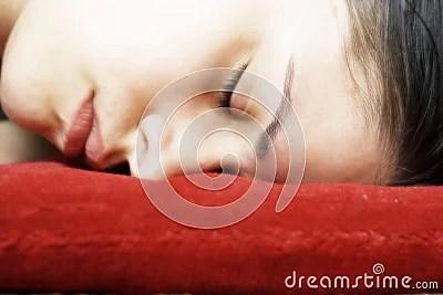 Sleeping Woman Face Down Stock Photos  Image 948243