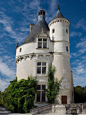 Small Castle Chenonceau France Royalty Free Stock Photo