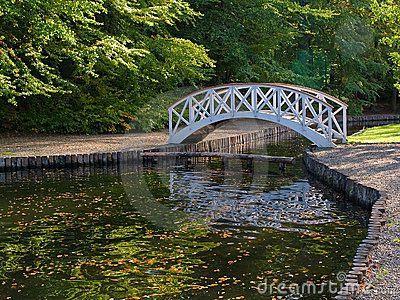 Small Wooden Bridge Over River Royalty Free Stock Photography Image 16352147