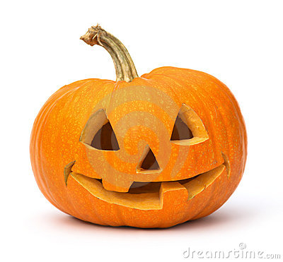 Smiling Jack O Lantern Stock Photo  Image 21291550